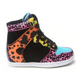 Cute To The Core Clutch - Leopard High-Top Sneaker