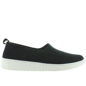 Adam Tucker Reese - Black Knit Slip-On Wedge Sneaker