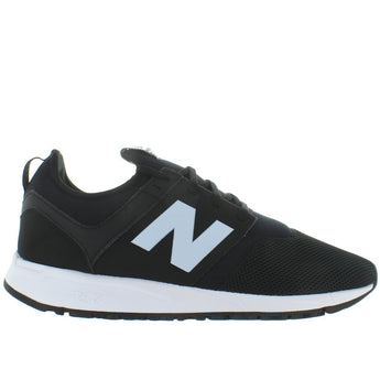 New Balance 247 - Black Mesh Slip-On Lifestyle Sneaker