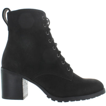 Chelsea Crew Tomboy - Black Suede Lace-Up Boot
