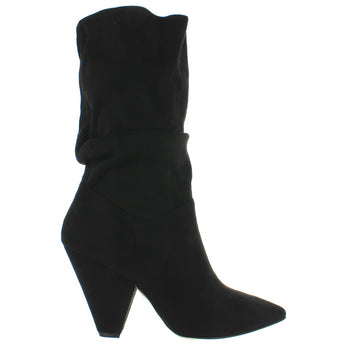 Chinese Laundry Rosa - Black Suedette Slouchy Boot