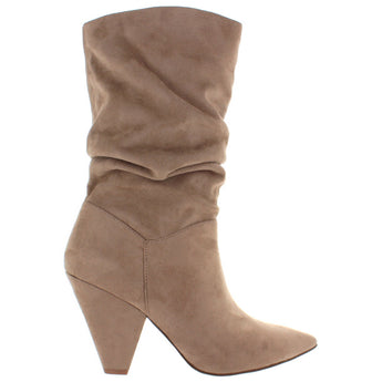 Chinese Laundry Rosa - Mink Suedette Slouchy Boot