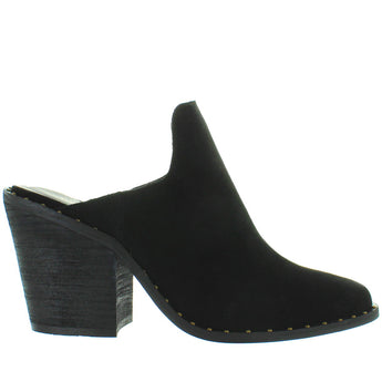 Chinese Laundry Springfield - Black Suede Studded Western Mule