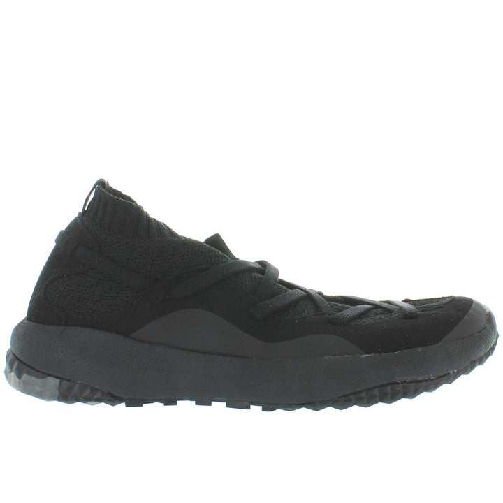 Coolway Treck Ace - Black Textile Slip-On Wedge Sneaker