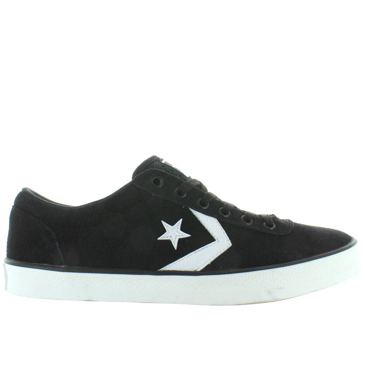 Converse All-Star Wells Ox - Black/White Canvas Lace Sneaker
