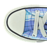 Converse All-Star Chuck Taylor Spectator Ox - Blue/White Allure Plaid Low-Top Sneaker