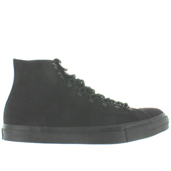 Converse All-Star Chuck Taylor Mono Hiker Hi - Black/Black Canvas High-Top Sneaker