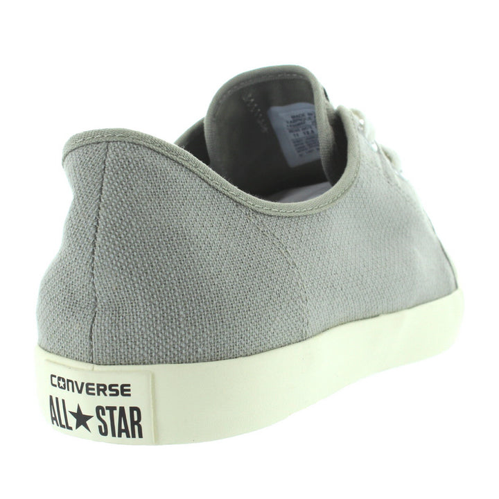013054767c03 ... Converse All Star Riff Ox - Old Silver Oyster Woven Canvas Low-Top Lace  ...