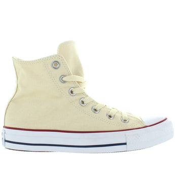 Converse All-Star Chuck Taylor High Top - Natural White Canvas High Top Sneaker