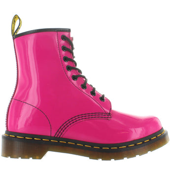 Dr. Martens 1460W 8-Eye - Hot Pink Patent Lamper Boot