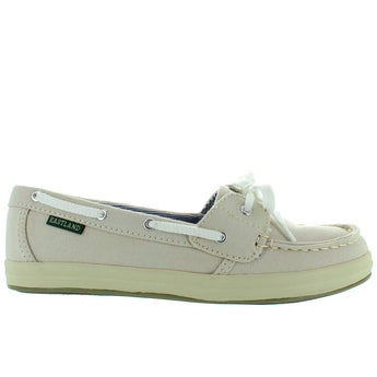 Eastland Skip - Bone Canvas Boat Shoe