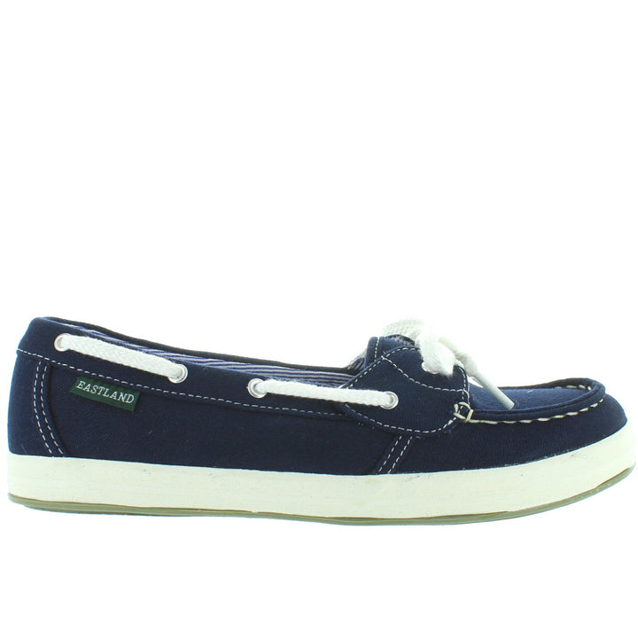 Eastland Skip - Navy Canvas Boat Shoe