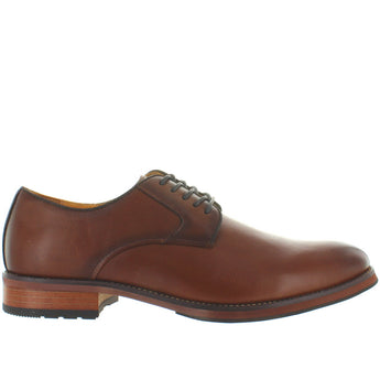 Florsheim Blaze Plain Ox - Cognac Leather Plain Toe Oxford