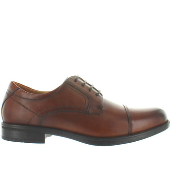 Florsheim Midtown Cap Ox - Cognac Leather Cap Toe Oxford