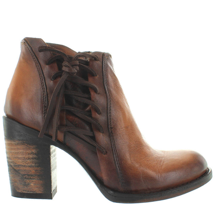 Freebird Brook - Brown Leather Short Boot