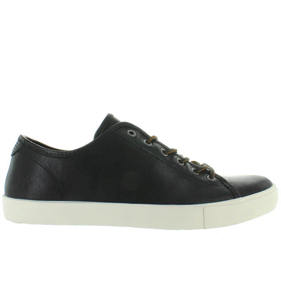 Frye Boot Brett Low - Black Leather Lace Low-Top Sneaker