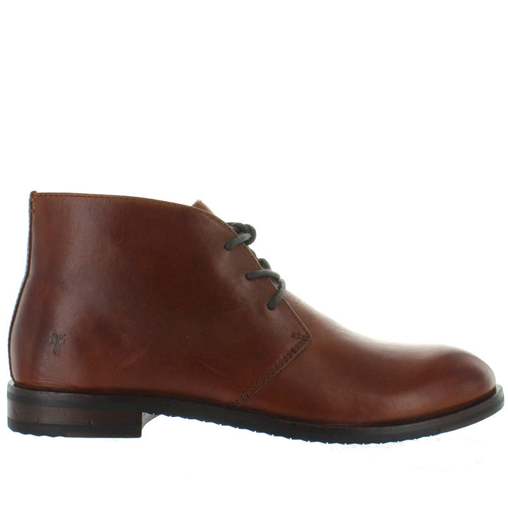 Frye Boot Sam Chukka - Cognac Leather Chukka Boot