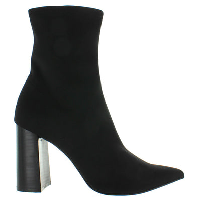 Jeffrey Campbell Siren - Black Neoprene Boot