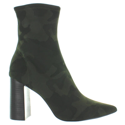 Jeffrey Campbell Siren - Khaki/Black Camo Neoprene Boot