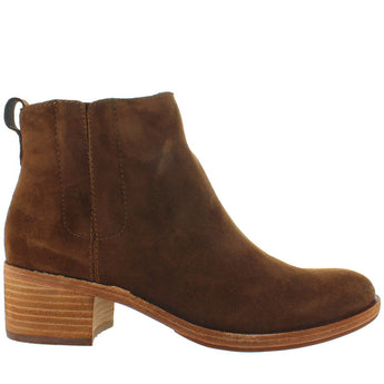 Kork-Ease Mindo - Brown Suede Dual Gore Pull-On Bootie