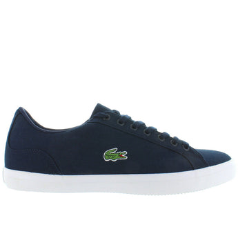 Lacoste Lerond - Navy Canvas Classic Lace Sneaker