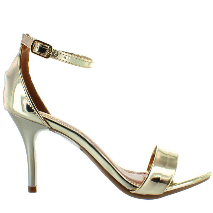 Makers Regi 1 - Gold Stiletto Sandal