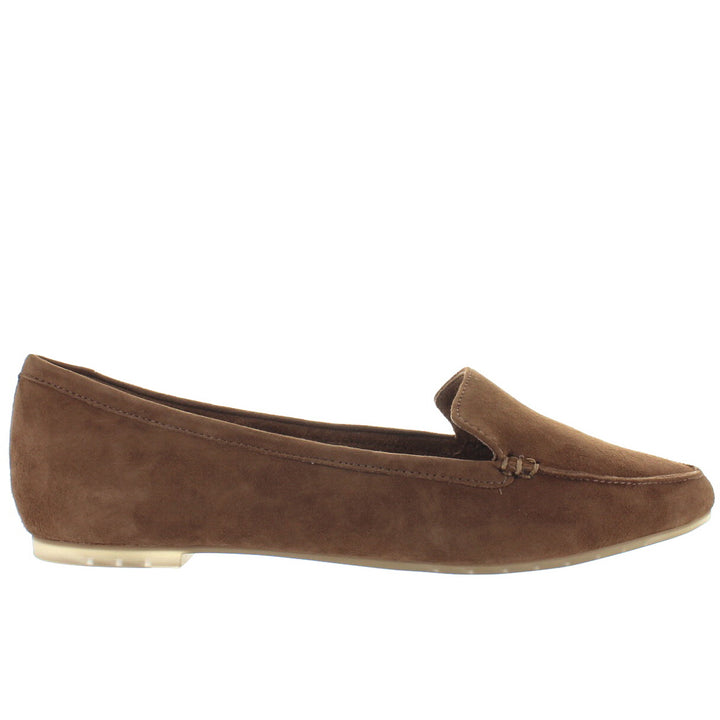 Me Too Audra - Chestnut Suede Pointed Toe Loafer