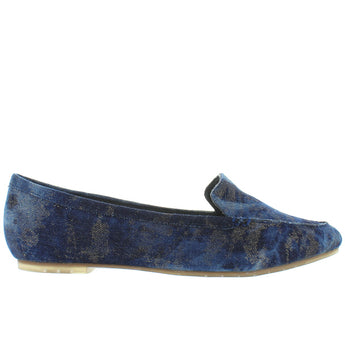 Me Too Audra - Blue Champagne Denim Loafer