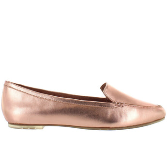 Me Too Audra - Rose Gold Metallic Loafer