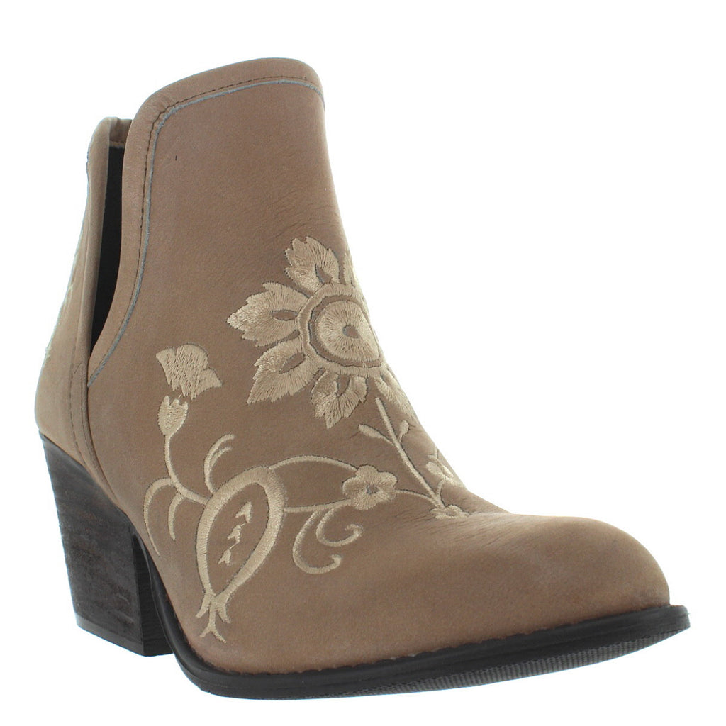Musse Amp Cloud Ambar Taupe Leather Embroidered Western