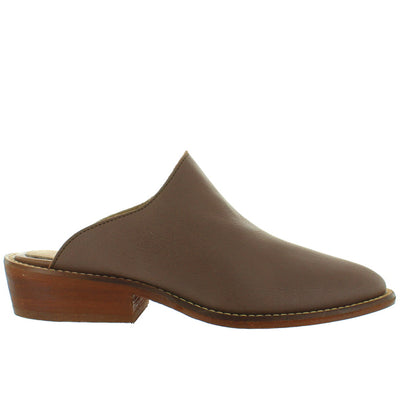 Musse & Cloud Michelle - Brown Leather Mule