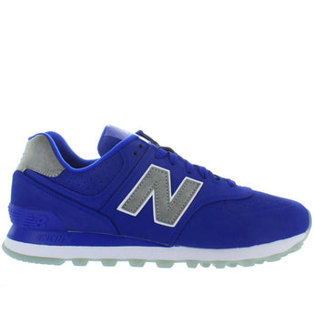 New Balance 574 - Royal Blue Suede Classic Running Sneaker