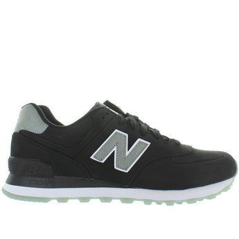 New balance 574 - Black Suede Classic Running Sneaker