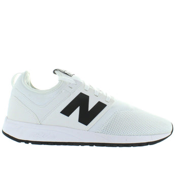 New Balance 247 - White Mesh Slip-On Lifestyle Sneaker