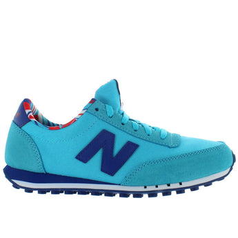 New Balance 410 - Turquoise Suede/Mesh Running Sneaker