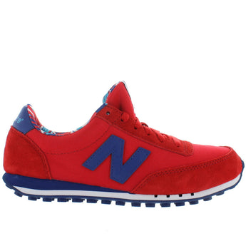 New Balance 410 - Red Suede/Mesh Running Sneaker