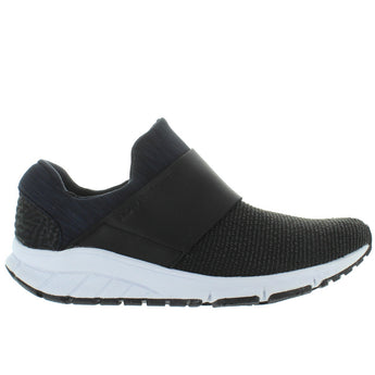 New Balance Valee Rush - Black Textile Pull-On Sneaker