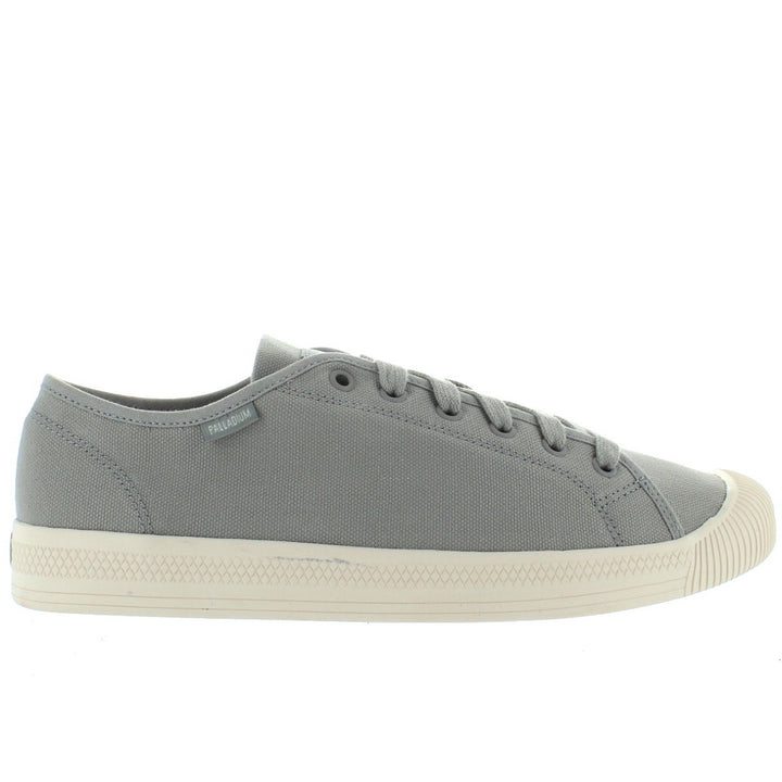Palladium Flex Lace - Mouse Grey Canvas Sneaker