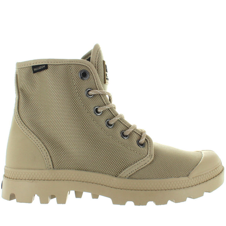 Palladium Pampa Hi Originale - Safari/Ecru Canvas Lace-Up Boot