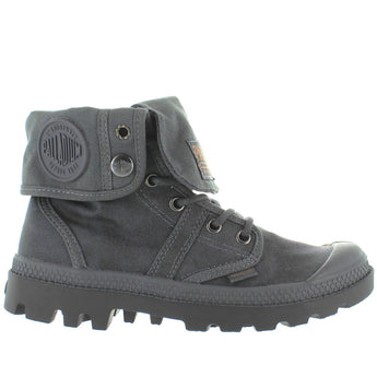 Palladium Pallabrouse Baggy Wax - French Metal Canvas Combat Boot