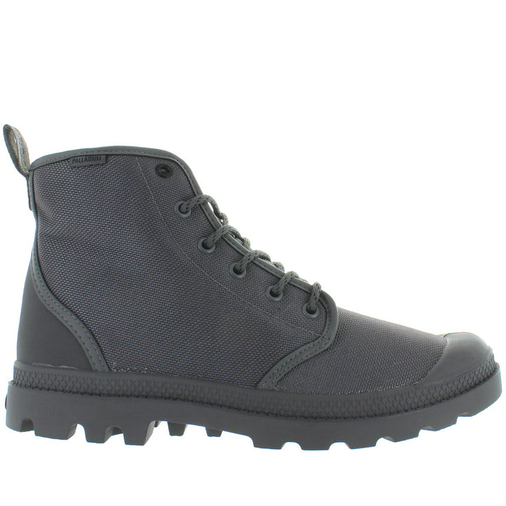 Palladium Pampa Hi Originale WP - Waterproof French Metal Canvas/Nubuck Lace-Up Boot
