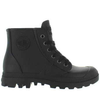Palladium Pampa Hi Rain - Black Rubber Waterproof Rain Boot
