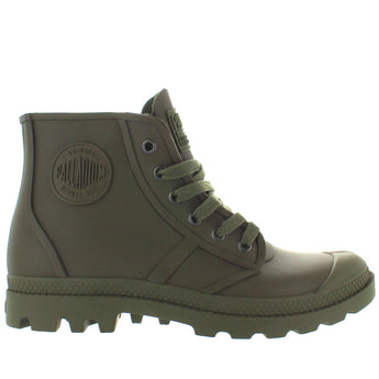 Palladium Pampa Hi Rain - Moon Mist Rubber Waterproof Rain Boot