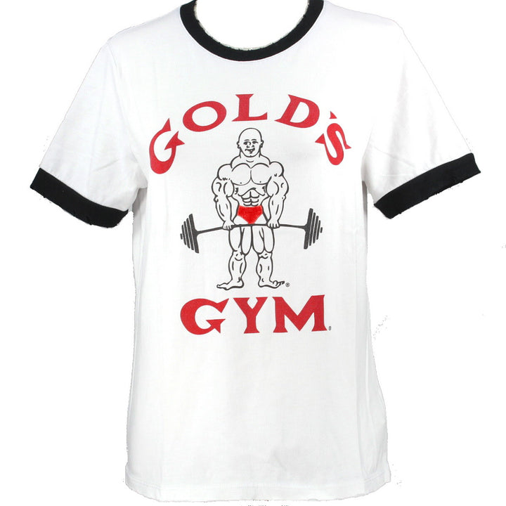 Recycled Karma Golds Gym - Cream/Black Multi Graphic Tee