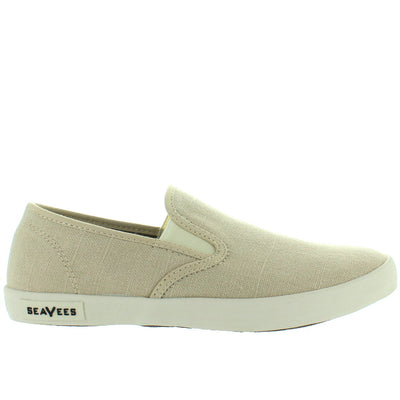SeaVees Baja Slip-On - Natural Linen Slip-On Sneaker