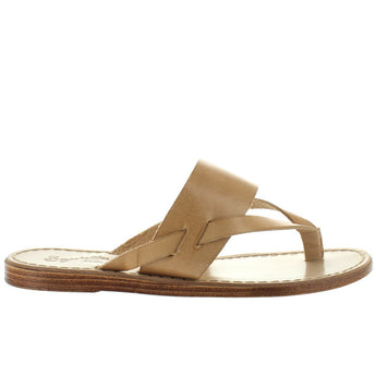 Seychelles Mosaic - Natural Leather Thong Sandal