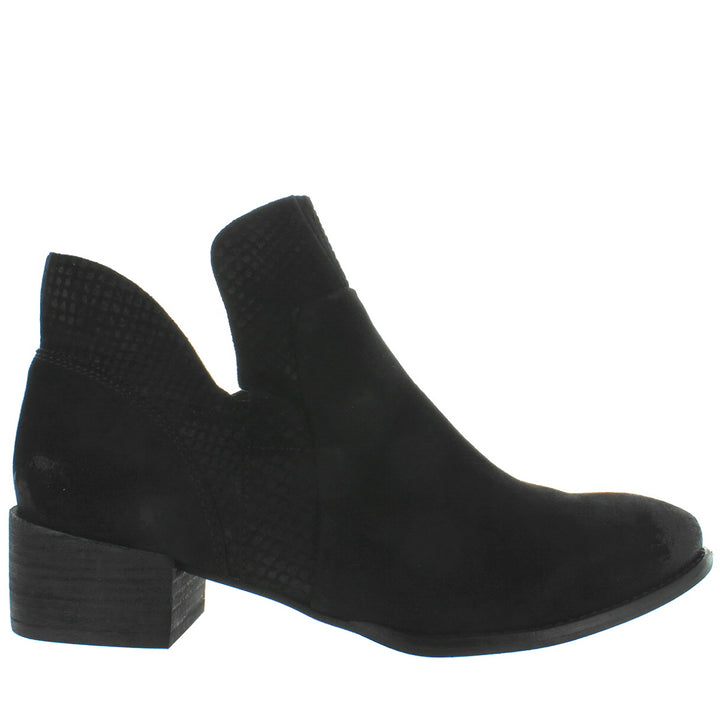 Seychelles Score - Black Leather Bootie