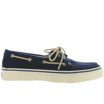 Sperry Top-Sider Bahama - Navy Wool Boat Shoe
