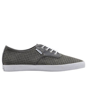 Gravis Slymz Suede- Pewter Perforated Sneaker