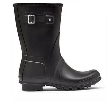 Hunter Original Short- Black Rain Boot